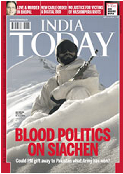 Blood Politics in Siachen